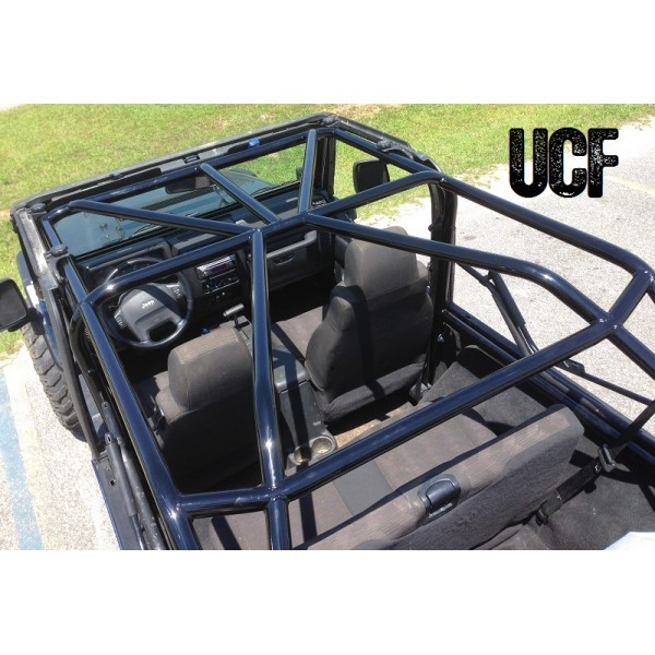 Under Cover Fabworks Llc Ucf Lj Full Roll Cage For Jeep